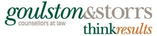 Goulston and Storrs logo Gala sponsor 2017