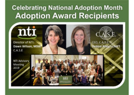 NTI Celebrates Two Awards in the National Adoption Month!