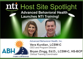 Advanced Behavioral Health Proudly Offers NTI to Clinicians to Enhance Adoption Competent Clinical Practice!