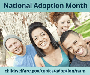 C.A.S.E. attends the National Adoption Awareness Month Proclamation Ceremony in Montgomery County, Maryland