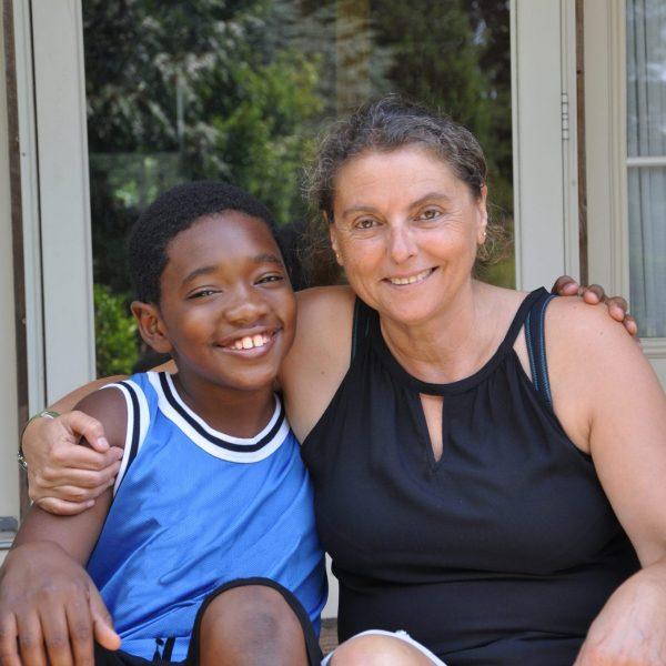 Boy & Adoptive Mom