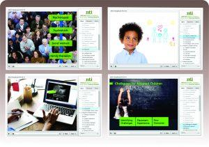 Sampling of the Mental Health Curriculum Screens