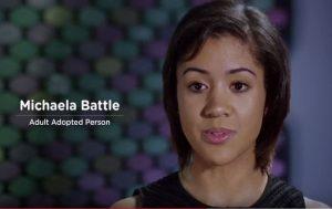 Michaela Battle screenshot with name