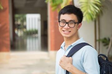 Korean male college student