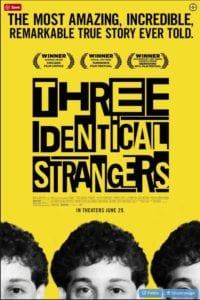 Three identical strangers movie image