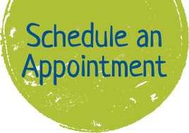 Schedule an appointment graphic