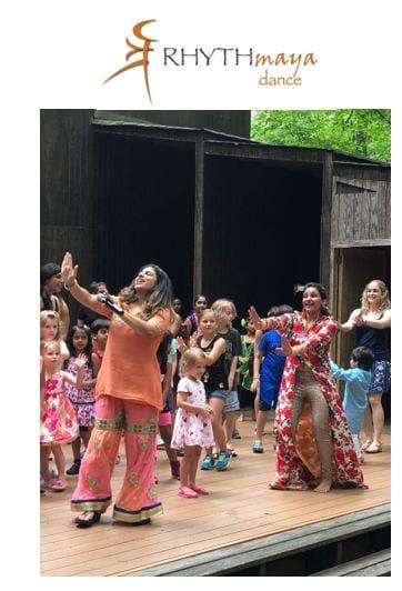 Rythmaya Dance With Kids And Logo