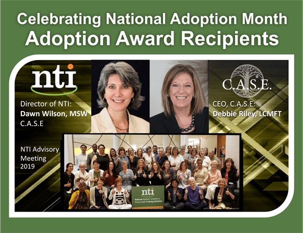 National Adoption Months Award Graphic