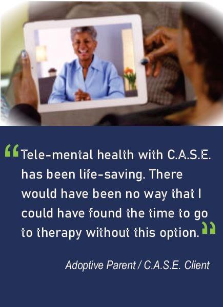 Tele Mental Health Quote Image