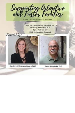Debbie Riley and David Brodzinky Covid 19 Webinar