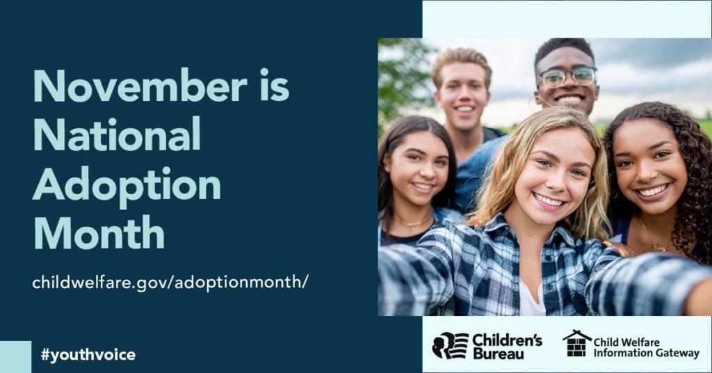 National Adoption Month 2020 image