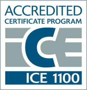 TAC ICE accreditation seal