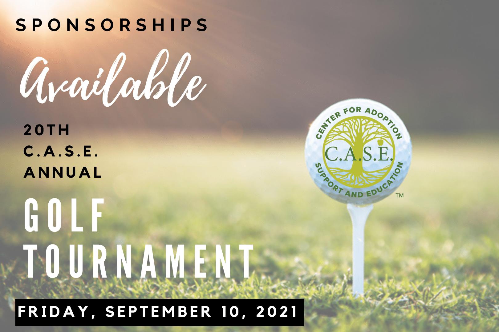 20th Annual C.A.S.E. Golf Tournament September 10th, 2021