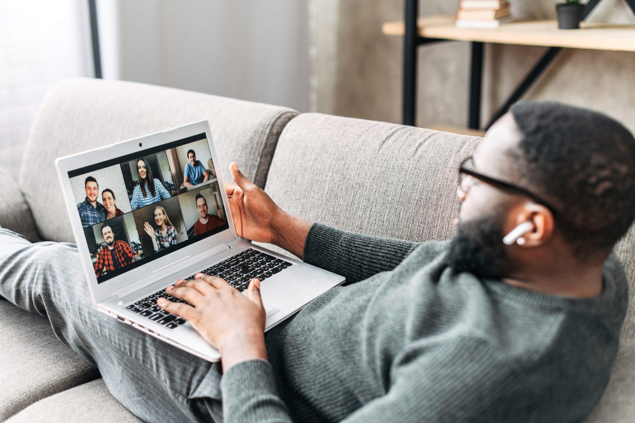 Black Man virtual parent support group
