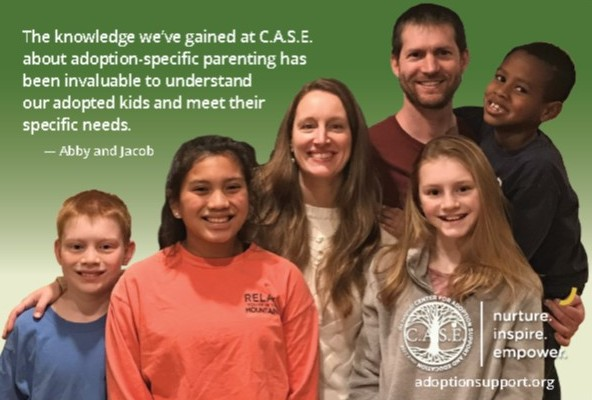 Testimonial Quote And Family Image