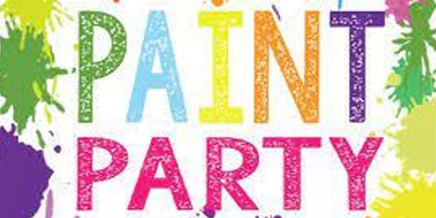 NPAC CHS Paint Party Image