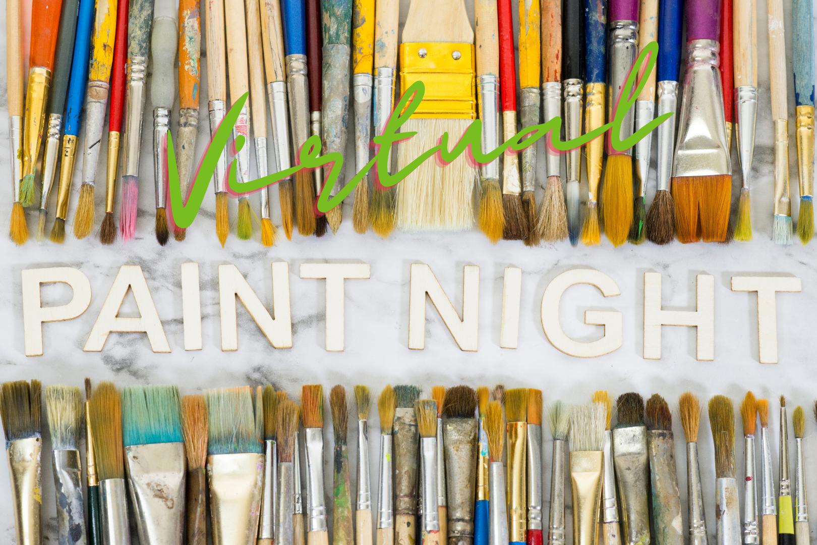 Virtual Paint Night Paint Brushes
